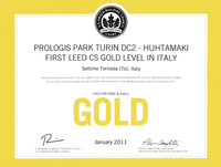 First Leed Gold Certification in Italy